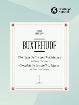 Dietrich Buxtehude - Sämtliche Suiten und Variationen Prakt. - Sheet Music - di-arezzo.com