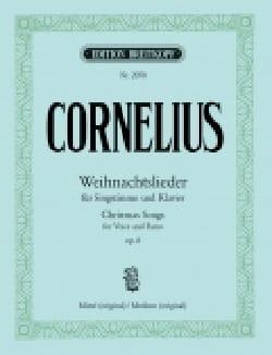 Peter Cornelius - Weihnachtslieder Op. 8 - Sheet Music - di-arezzo.com
