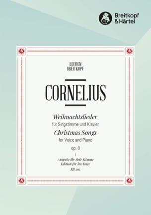 Peter Cornelius - Weihnachtslieder, Op. 8 - Partition - di-arezzo.fr
