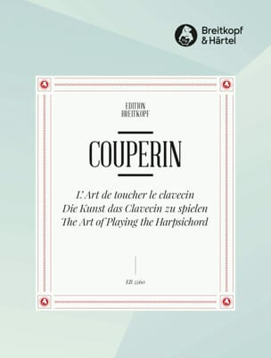 L' Art de Toucher le Clavecin COUPERIN Partition laflutedepan