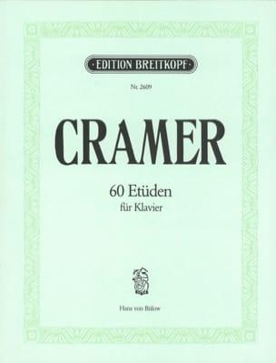 60 Etüden Jean-Baptiste Cramer Partition Piano - laflutedepan