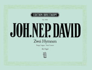 Johann N David - 2 Hymnen: Pange Lingua, Veni - Sheet Music - di-arezzo.com