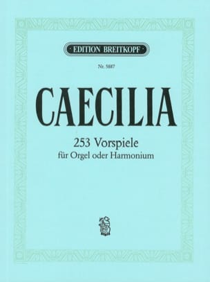 Caecilia - Partition - Orgue - laflutedepan.com