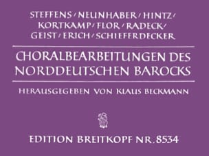 - Baroque Chorales from Northern Germany - Sheet Music - di-arezzo.co.uk