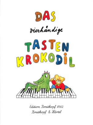 Das Vierhändige Tasten Krokodil 4 Hands - Sheet Music - di-arezzo.co.uk