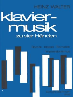 - Klaviermusik Aus 4 Jahrhunderten. 4 Mains - Partition - di-arezzo.fr