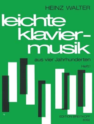 - Leichte Klaviermusik Aus 4 Jahrhunderten Vol 1 - Partition - di-arezzo.fr
