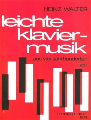 - Leichte Klaviermusik Aus 4 Jahrhunderten Vol 2 - Partition - di-arezzo.fr