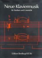 - Neue Klaviermusik Für Studium Und Unterricht - Partition - di-arezzo.fr