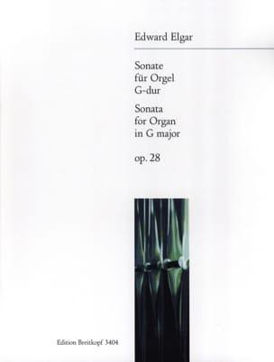 Edward Elgar - Sonate Opus 28 - Partition - di-arezzo.fr
