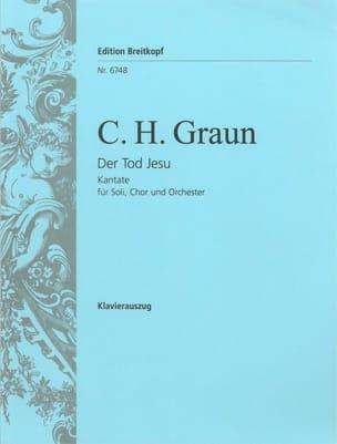 Carl Heinrich Graun - Der Tod Jesu - Partition - di-arezzo.fr