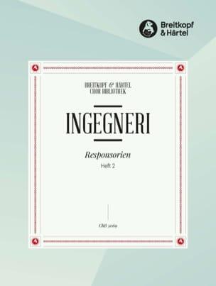 Marco Antonio Ingegneri - Verantwortlich für Gründonnerstag, Heft 2 - Noten - di-arezzo.de