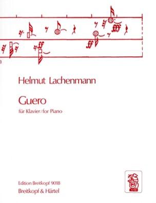 Helmut Lachenmann - Guero - Sheet Music - di-arezzo.com