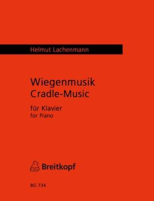 Wiegenmusik - Helmut Lachenmann - Partition - Piano - laflutedepan.com