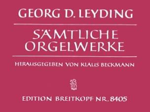 Georg Dietrich Leyding - オルガン作品 - 楽譜 - di-arezzo.jp