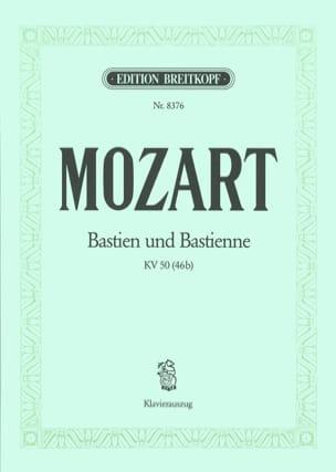 MOZART - Bastien Und Bastienne K 50 - Partition - di-arezzo.fr