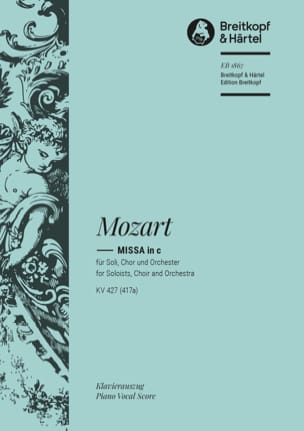 MOZART - Great Mass In C Minor K 427 - Sheet Music - di-arezzo.co.uk