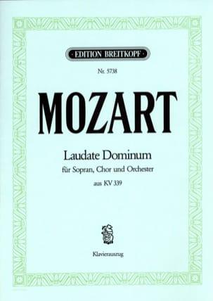 MOZART - Laudate Dominum KV 339 - Partitura - di-arezzo.es