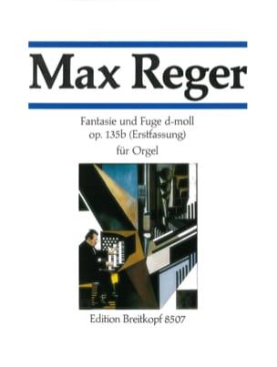 Fantaisie Et Fugue Ré Mineur Op 135b - Max Reger - laflutedepan.com
