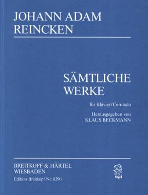 Johann Adam Reincken - Sämtliche Klavierwerke - Sheet Music - di-arezzo.com