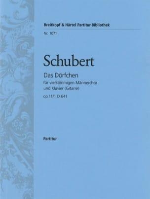 Das Dörfchen Op. 11-1 D 641 - Franz Schubert - laflutedepan.com