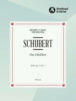 Das Dörfchen Op. 11-1 D 641. Choeur - SCHUBERT - laflutedepan.com