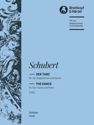 Franz Schubert - Der Tanz D 826 - Partition - di-arezzo.fr