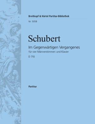 Im Gegenwärtigen Vergangenes D 710 - Franz Schubert - laflutedepan.com