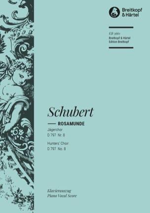 Jägerchor Extrait de Rosamunde, D 797-8 - SCHUBERT - laflutedepan.com