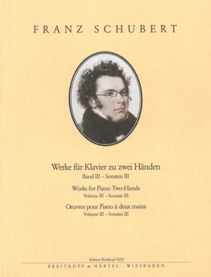 Oeuvres pour piano Volume 3. - Franz Schubert - laflutedepan.com