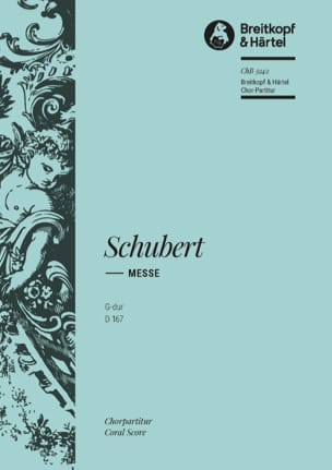 SCHUBERT - Mass in G Major D 167. Choir - Sheet Music - di-arezzo.co.uk