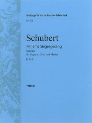 SCHUBERT - Mirjams Siegesgesang - D 942 - Sheet Music - di-arezzo.co.uk