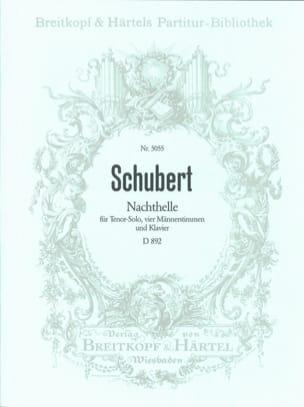 Nachthelle D 892. Opus Posth 134 - SCHUBERT - laflutedepan.com