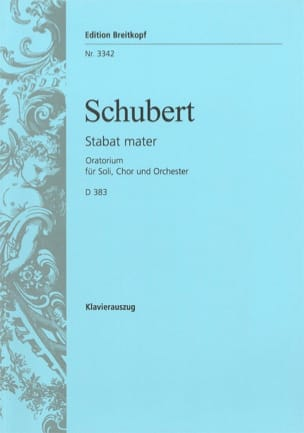 Franz Schubert - Stabat Mater Fa-Moll D 383 - Noten - di-arezzo.de