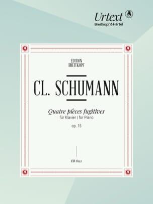 4 Pièces Fugitives Opus 15 - Clara Schumann - laflutedepan.com