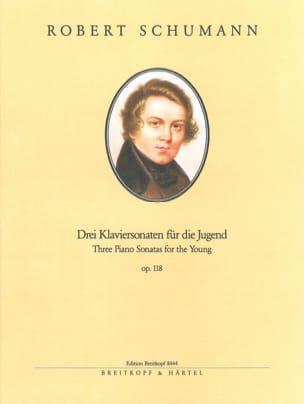 3 Sonaten Für Die Jugend Opus 118. Nelle Edition - laflutedepan.com