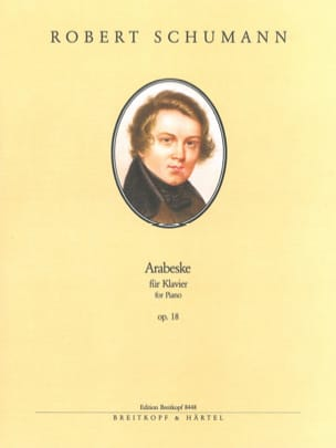SCHUMANN - Arabesque op. 18 - Partition - di-arezzo.fr