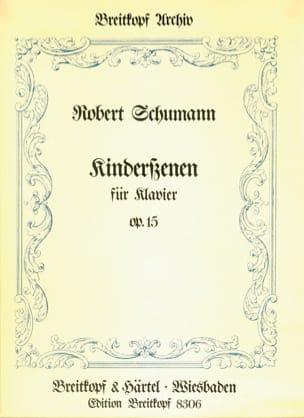 SCHUMANN - Kinderszenen Op. 15 - Partition - di-arezzo.fr