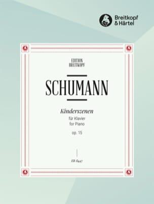 Kinderszenen Op. 15 - SCHUMANN - Partition - Piano - laflutedepan.com