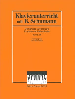 SCHUMANN - 5 Pieces Extracts from opus 85. 4 Hands - Sheet Music - di-arezzo.co.uk