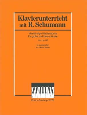 SCHUMANN - 5 Piezas de extractos de opus 85. 4 manos - Partitura - di-arezzo.es
