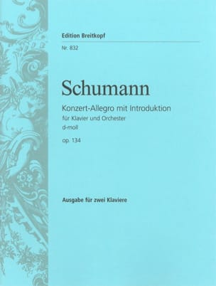 Allegro de Concert En Ré Mineur Opus 134. 2 Pianos - laflutedepan.com
