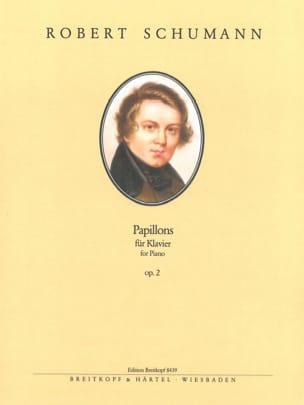 Papillons Opus 2 - Robert Schumann - Partition - laflutedepan.com