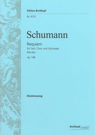 Requiem - SCHUMANN - Partition - Chœur - laflutedepan.com