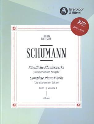 Sämtliche Klavierwerke Volume 1 - Robert Schumann - laflutedepan.com