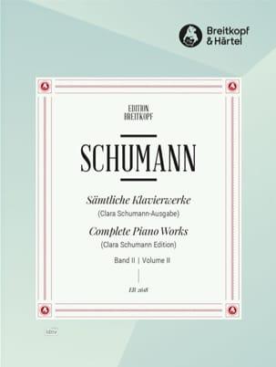 Sämtliche Klavierwerke Volume 2 - SCHUMANN - laflutedepan.com