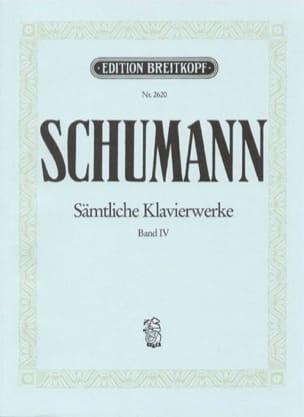 Sämtliche Klavierwerke, Volume 4 - Robert Schumann - laflutedepan.com