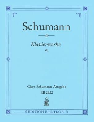 Sämtliche Klavierwerke, Volume 6 - Robert Schumann - laflutedepan.com