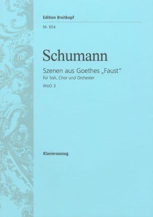 Scènes de Faust Woo 3 - SCHUMANN - Partition - laflutedepan.com