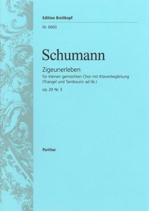 SCHUMANN - Zigeunerleben Opus 29-3 - Sheet Music - di-arezzo.com